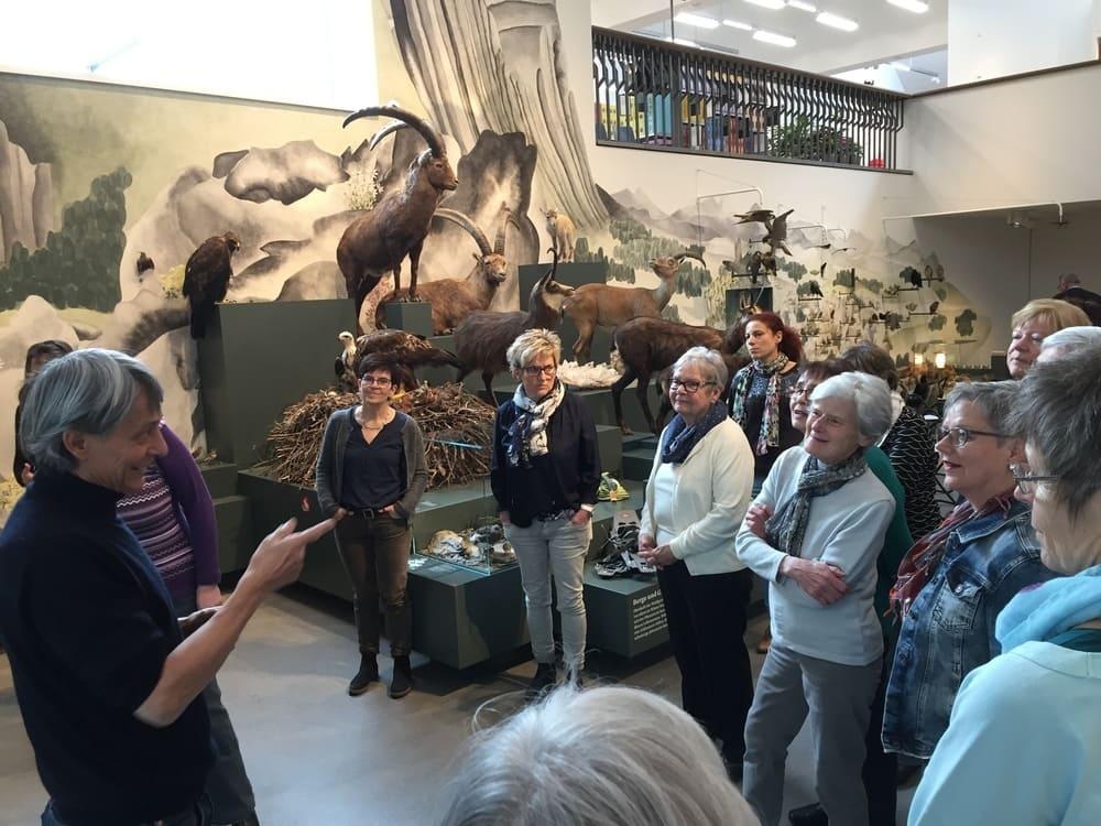 Besuch Naturmuseum St.Gallen