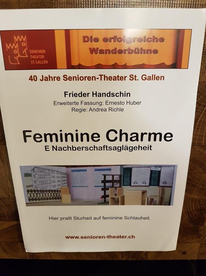 Seniorentheater Feminine Charme